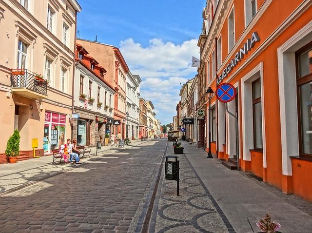 Miasteczka na zachodzie Polski